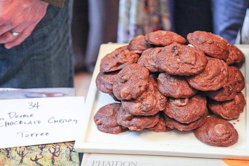 Double Chocolate Dried Cherry and Toffee Bit Cookies – a Double ...