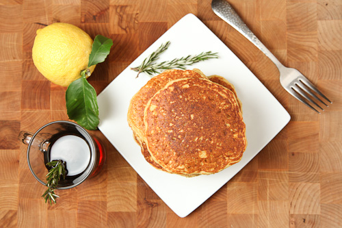 The Gluten Free Ratio Rally – Quinoa Cornmeal Lemon Honey Pancakes ...