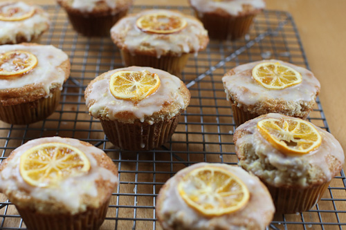 ... lemon Muffins filled with Slow Roasted Balsamic Red Wine Strawberry