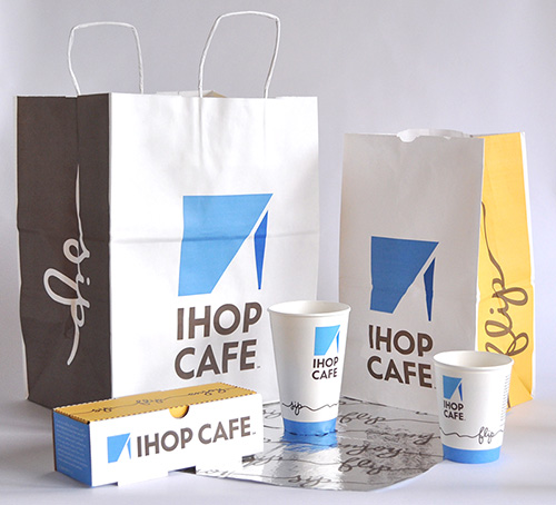IHOP CAFE Packaging