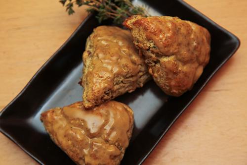 Spotlight on Savory: Green Garlic, Bacon and Thyme Scones ...
