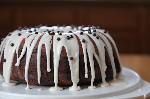 Eat the Love Marble Dark Chocolate Vanilla Bean Bundt ...