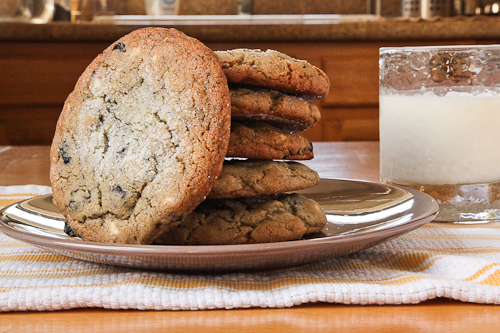 Blueberry and White Chocolate Chip Jumbo Cookie Recipe | Eat the Love