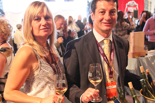 The wonderful wine reps from Jermann Winery. jpg