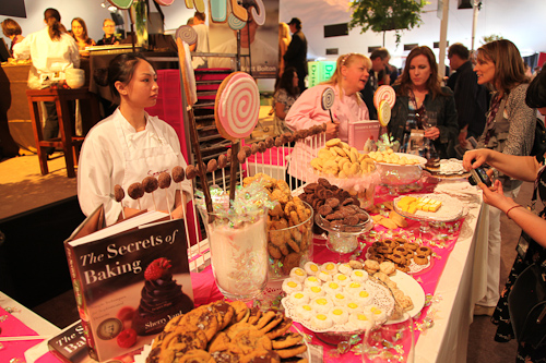 Sherry Yard and her cookie station. jpg