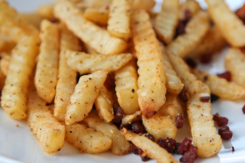 Smoked Applewood Bacon French Fries jpg