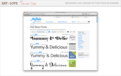 My fonts.com