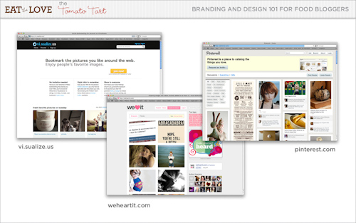 image sites like weheartit. If you are using visual bookmarking sites like vi.sualize.us, weheartit.com