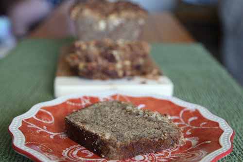 Caramelized Banana Rum Bread
