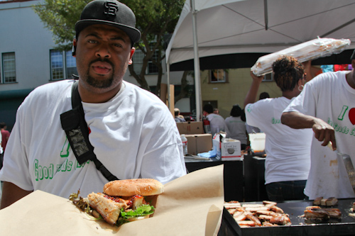 Good Food Catering had a pork belly BLT that was killer. jpg