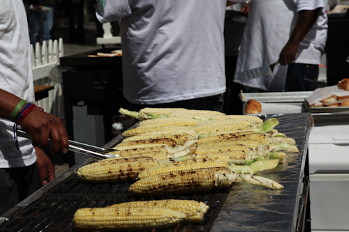 Roasted corn from Los Cilantros. jpg