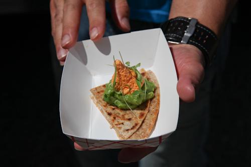 The secret snack was a quesadilla. jpg