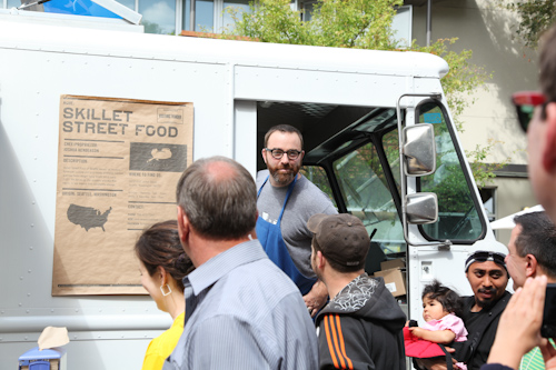 Skillet Street Food Truck came all the way down from Seattle Washington