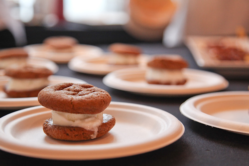 Michael MIna's Ice Cream Sandwiches with Ras el Hanout
