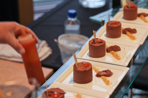 Chocolate Mousse w/anisette Breton & Schezuan Pepper Ganache from Westin St. Francis