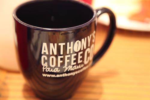 Anthony Coffee Company mug