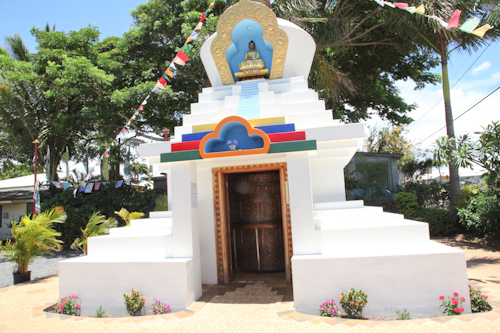 Great Paia Lha Bab Peace Stupa