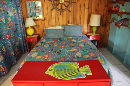 Our eco-tourism friendly BnB was extremely brightly colored. jpg