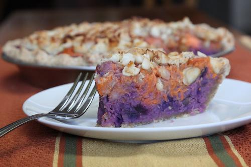 American Sweet Potato Okinawa Purple Potato Pie with Macadamia Nut ...