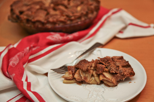 Double Butterscotch Apple Pie Recipe – Gluten Free | Eat ...