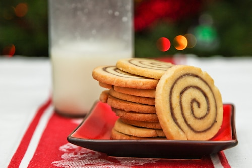 Snappy Cinnamon Spice Bun Cookies with Honey Buttermilk Glaze and a ...