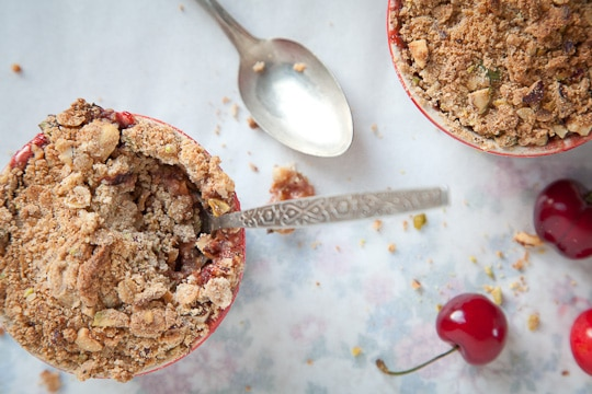 Rhubarb-Cherry-Apple-Strawberry-Spring-Nutty-Crumble-Gluten-Free-Eat-The-Love-Irvin-Lin-5