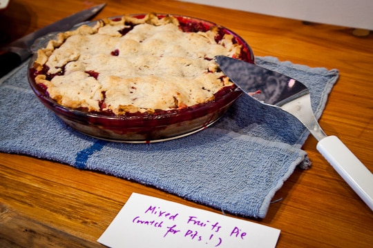 Nectarine Blackberry Open Faced Pie and a Pie Party for 18 Reason's ...