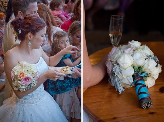 Blueberry Rhubarb Sour Cream Pie and Jenny & Cary's Wedding on a ...