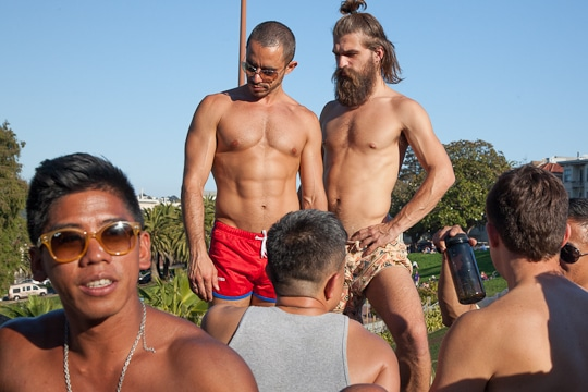 Dolores Park's Gay Beach by Irvin Lin of Eat the Love