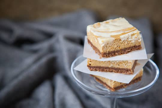 Pumpkin Pie Cheesecake Bars | Pumpkin Cheesecake Bars | Eat the Love