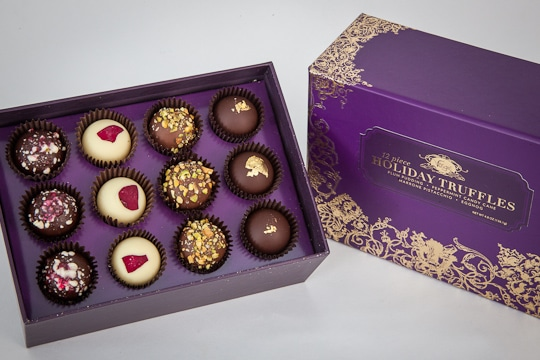 Vosges Holiday Truffle Collection. Photo by Irvin Lin of Eat the Love