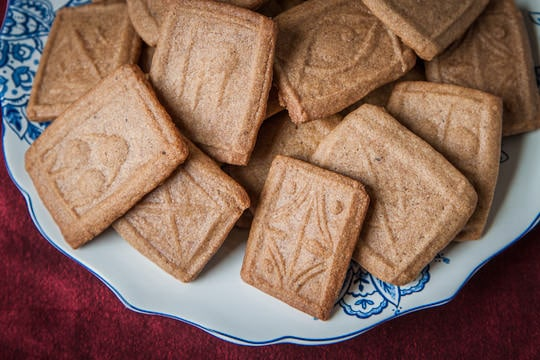 Dutch Speculaas Cookies (sometimes spelled Speculoos, otherwise known ...