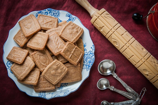 Dutch Speculaas Cookies(sometimes Spelled Speculoos, Otherwise Known ...