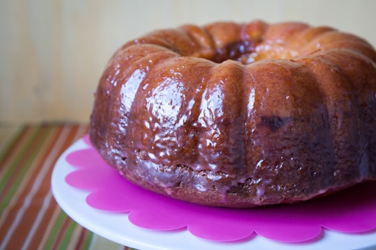 Sour Cream Blood Orange Bundt Cake with Cocoa Filling by Irvin Lin of Eat the Love. www.eatthelove.com