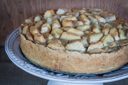 Open Faced Brown Butter Spiced Apple Pie by Irvin Lin of Eat the Love ...