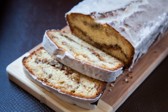 Tequila Glazed Lemon Bread with Rosemary Walnut Filling by Irvin Lin ...
