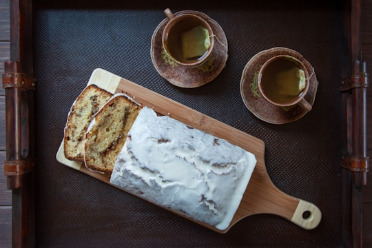 Tequila Glazed Lemon Bread with Rosemary Walnut Filling by Irvin Lin of Eat the Love. www.eatthelove.com