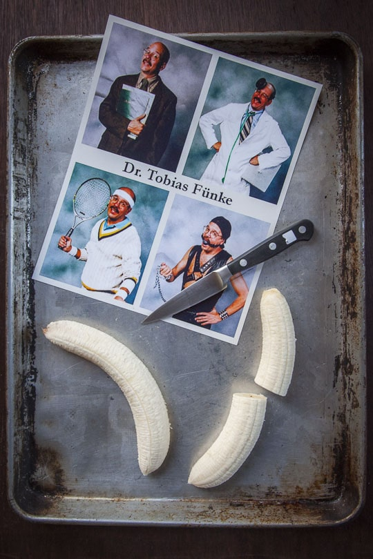 Arrested Development's Bluth's Original Frozen Banana Copycat Wordless Recipe by Irvin Lin of Eat the Love. www.eatthelove.com