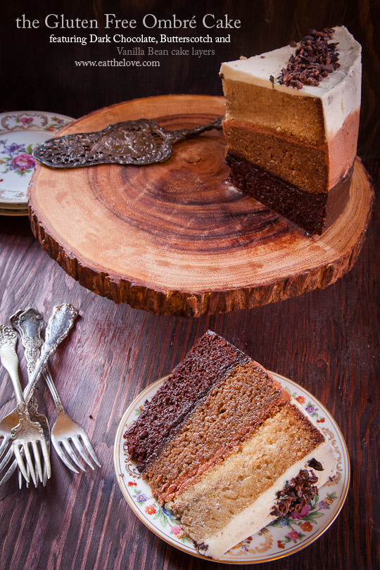 Gluten Free Cake Recipe | Gluten Free Chocolate Cake | Eat the Love