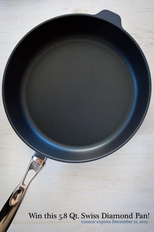 Win a Swiss Diamond Saute Pan!