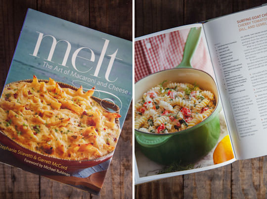 Melt, the Art of Macaroni and Cheese cookbook