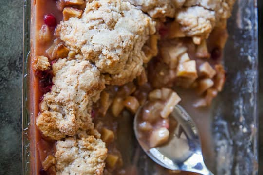 Apple Pear Cobbler | Pear Cobbler | Eat the Love