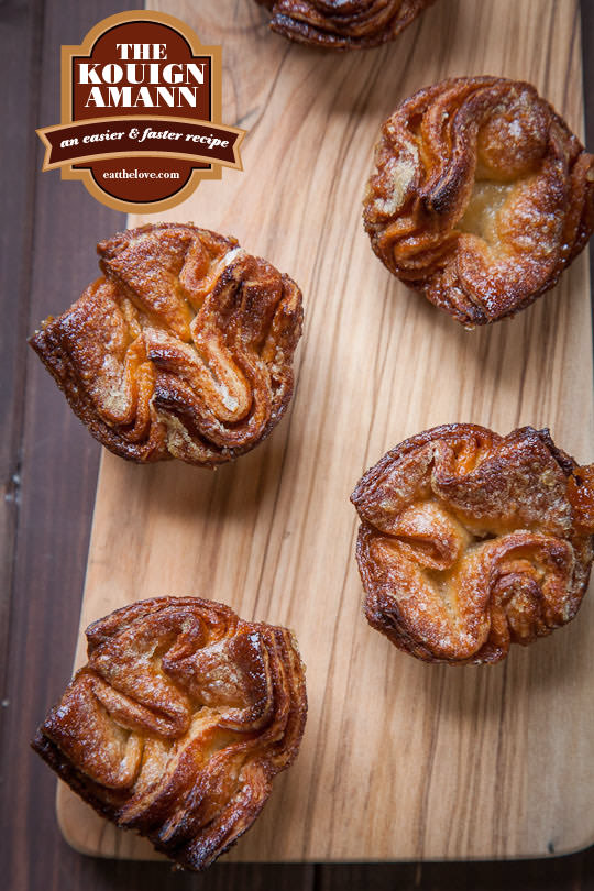 Kouign Amann | Kouign Amann Recipe | Eat the Love