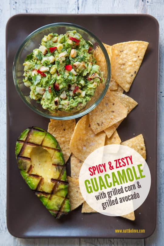 Spicy Guacamole Recipe, a made from scratch recipe. Photo an..
