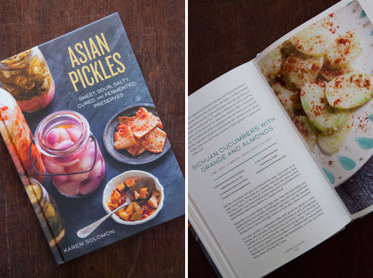 Asian Pickles by Karen Solomon