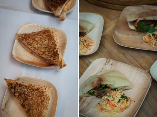 More and more sandwiches at Feast Portland. Photos by Irvin Lin of Eat the Love.