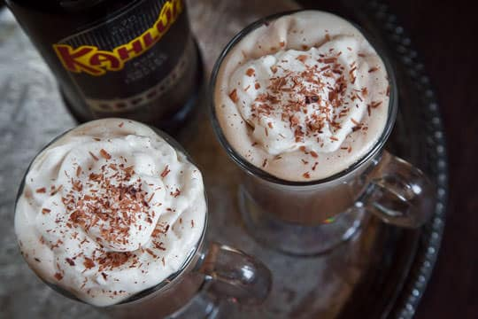 how to make a mocha with hot chocolate