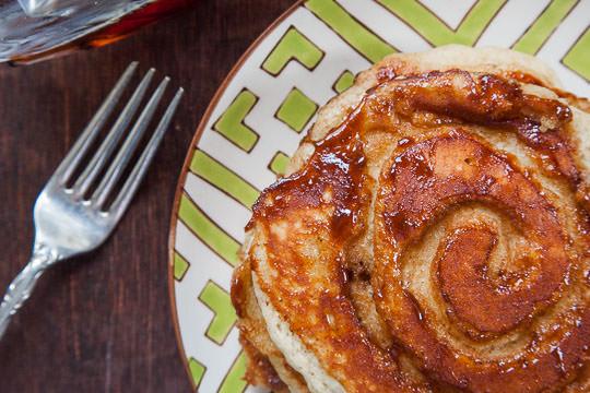 Eggnog Pancakes | Eggnog Pancake Recipe | Eat the Love
