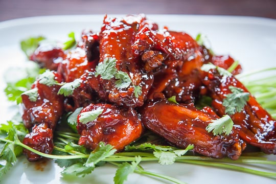 Vietnamese Caramel Chicken Wings | Vietnamese Chicken