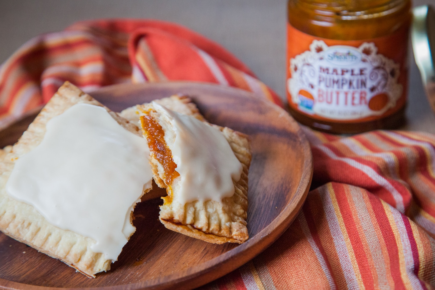 Homemade Pumpkin Butter Pop-Tarts are fun to make and eat!